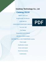 Catalog of Coolmay 2018 V 5.4