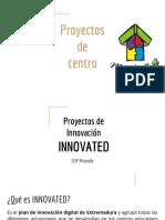 Presentación Proyectos Del Centro a Familias