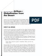 Lampiran UAS M. Pemasaran Int - Emirates Airlines - Globalization from the Desert
