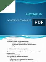 UNIDAD IV MODELO CONTABLE Y RECONCIMIENTO ECONET