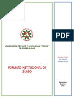 4. Formato Sílabo Utelvt 2019 - Sistemas Operativos