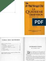 la quatrieme dimension avec le Dr yonggi cho