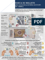 billete 50mil del Paraguay año 2018