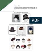 Piper's Hats