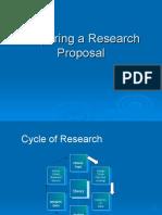 Preparing Research Proposal2