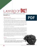 Defrag or Die - How Fragmented Business Processes Destroy Value