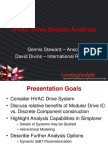Ventilation System Motor Drive Design and Analysis