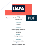 trabajo final ESPAÑOL I analisis cuento