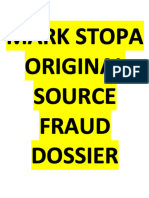 The Original Source Mark Stopa Fraud Dossier - Learn the real truth about Mark Stopa crimes and fake news Mark Stopa Book peoplevmoney.com