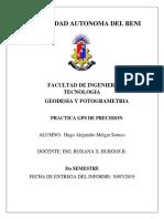 INFORME DE GPS DE PRESICION(huguito)