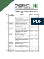 Form Indikator klinis bln agustus 2018