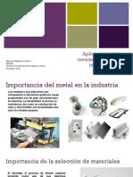 aplicacion de metales en el diseño industrial .pptx