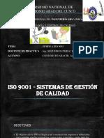 ISO 9001 - Sistemas de Gestión de Calidad