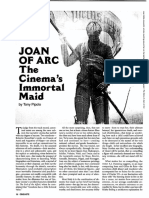 Tony Pipolo - Joan of Arc - The Cinema s Inmortal Maid