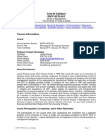 UT Dallas Syllabus for entp6378.0g1.11s taught by Jackie Kimzey (jxk092000)