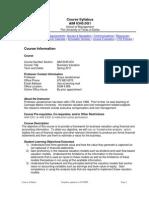 UT Dallas Syllabus for aim6345.0g1.11s taught by Surya Janakiraman (suryaj)