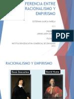 RacionalismoEmpirismo_Diferencias