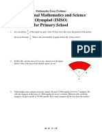Mathematics Essay Problems