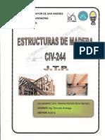 APUNTES DE ESTRUCTURAS DE MADERA JTP - CIV 244