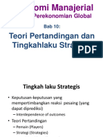 Teori Pertandingan dan Tingkahlaku Stratregispert-10 (1)