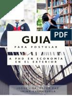 Guía para Postular a Doctorado en Economía en el Exterior