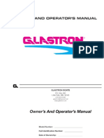 GlastronOwnersManual