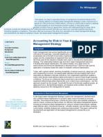 LCE Risk-Based Asset Management Report