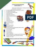 Lista de útiles escolares sexto grado4