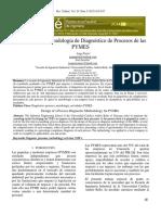 Diseño de una Metodología de Diagnóstico de Procesos