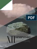 Programa XII Simposio de Estudiantes de Filosofía PUCP