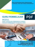 C. Modul Paket Keahlian Perbankan Syariah SMK - Layanan Bank Syariah