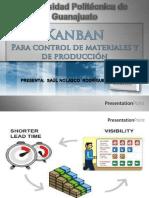 kanban para control de materiales y de produccion
