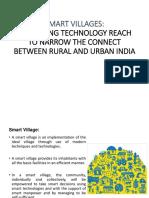Smart Village in year 2020
