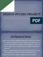 DESIGN STUDIO PROJECT PPT