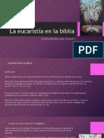 La eucaristía en la biblia NEW