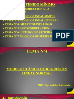 Tema Nº4 Modelo clasico de regresion lineal normal