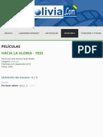 Hacia la gloria - 1932