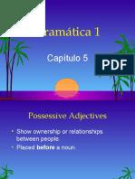 Possessive adjectives, stem changers