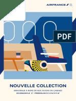 Nouvelle collection en cabines Economy et Premium Economy_Air France