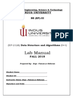 Updated-EP-212A DSA Lab Manual