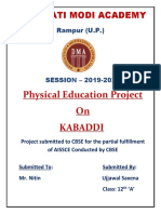 PHYSICAL EDUCATION BOARD PROJECT.docx
