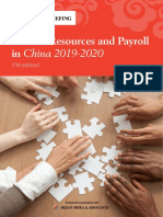 Human Resources  Payroll in China 2019-20