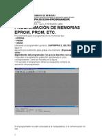 programacion de memorias