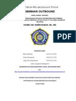 laporan  outbond seminar msdm.doc