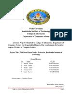 Web Based Open Tender System for KIoT