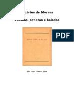 Poemas, Sonetos e Baladas - Vinicius de Moraes