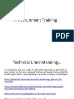 IT Recruitment Support_Training