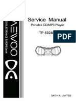 TP-502AG Service Manual (New IC)