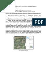 Pemanfaatan Drone untuk Analisis Lereng Areal Pertambangan