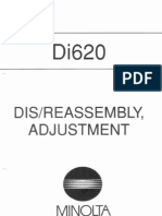 Konica-minolta minolta di620 general service manual.